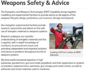 Weapons Safety