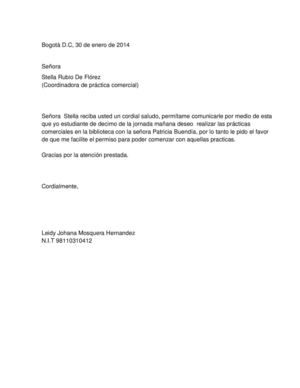 cartas personales