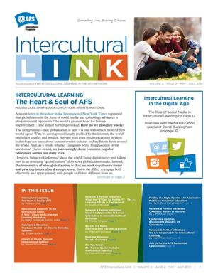 AFS Intercultural Link News Magazine, Volume 5 Issue 2