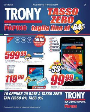 Scaldasonno Da Trony.Calameo Volantino Trony Gruppo Papino Dal 30 10 Al 16 11 2014