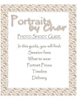 Portraits by Chars Guide