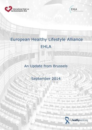 EHLA An Update From Brussels September 2014