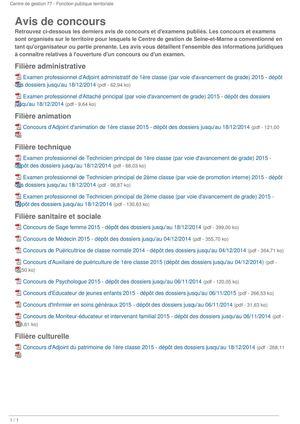 e805f826a2a Calaméo - Avis De Concours Cdg 77