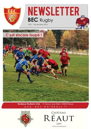 Newsletter Rugby 5