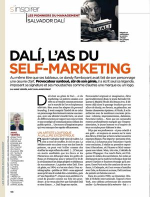 Dali l'as du self-marketing