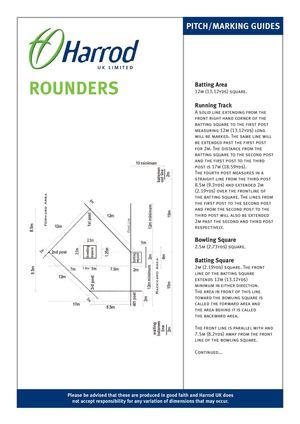Calamo Rounders Line Markings