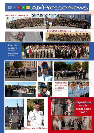 Aix Presse News SEPTEMBRE 2014