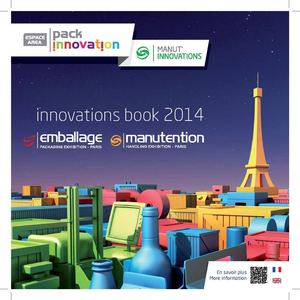 Innovations Book EMBALLAGE & MANUTENTION 2014