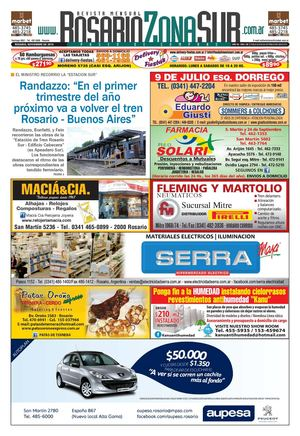 2165d51f0 Calaméo - Periódico Rosario Zona Sur, edición noviembre 2014