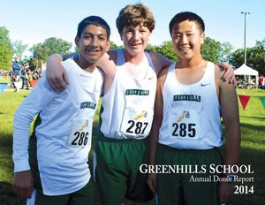 Greenhills Annual Donor Report