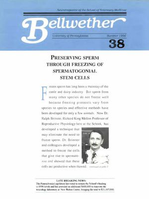 Bellwether 38, Summer 1996