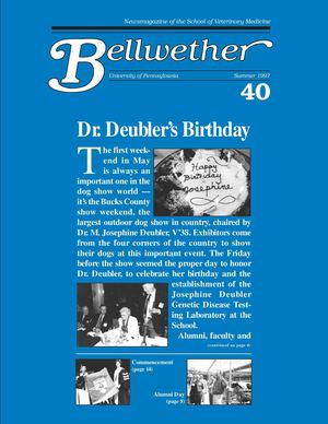 Bellwether 40, Summer 1997