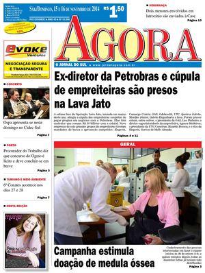 Calaméo - Jornal Agora - Edição 10996 - 15 e 16 de novembro de 2014 cf5c35219a