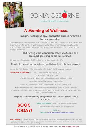 A Morning of Wellness