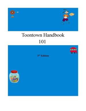 Toontown Handbook 101 2nd Edition