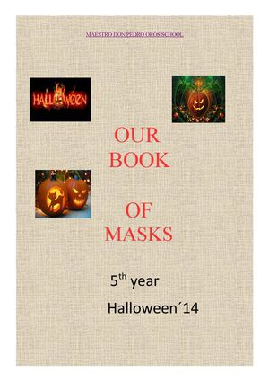 Descriptions Of Masks Of The 5th Year