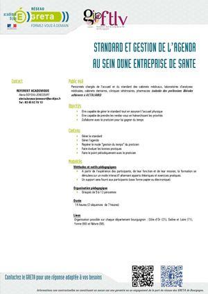 Calameo Fiche Descriptive Standard Et Gestion De L Agenda Au Sein