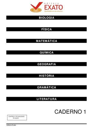 Calaméo Pré Vestibular Caderno I Completo
