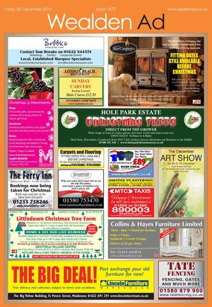 Wealden Advertiser 5/12/2014