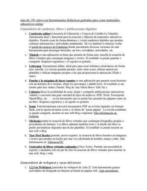 Calaméo - Más De 150 Sitios Con Herramientas Didácticas Gratuitas ...