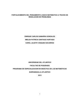 Calaméo - Fortalecimiento Del Pensamiento Logico Matematico A Traves ...
