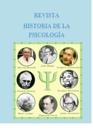 leahey historia de la psicología pdf