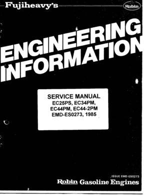 calam o ec25 robin engine service manual rh calameo com robin ey 25 engine manual robin ey 25 engine manual