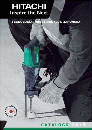 Catalogo Hitachi 2015