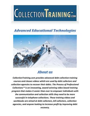 Advanced Educational Technologies Collection Training Program