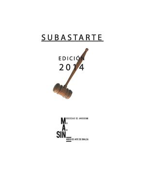 Subastarte 2014 Obra Disponible