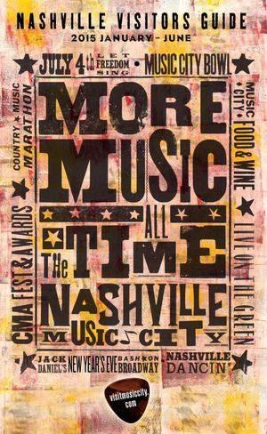 Nashville Visitors Guide Jan - June 2015