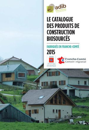 Catalogue des produits de construction biosourcés