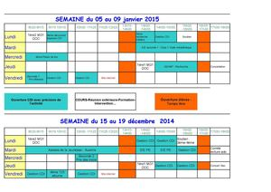 Planning Ouverture Cdi 2014 2015