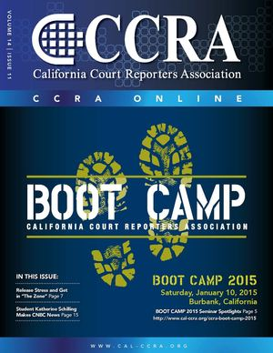 CCRA Newsletter Vol. 14 | Issue 11