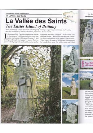 CENTRAL BRITTANY JOURNAL (122012) The Easter Island Of Brittany
