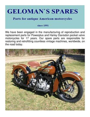 GELOMAN Antique Motorcycles : Henderson Motorcycles