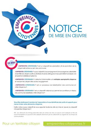 Empreintes Citoyennes Notice Pages
