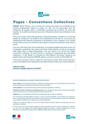 Pages Conventions Collectives