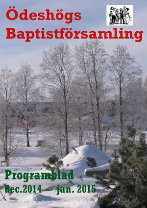 Programblad dec 2014- jan 2015