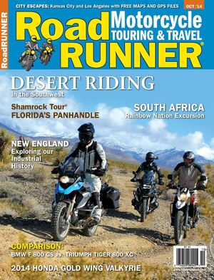 Click article icon to read RoadRUNNER Magazine's South Africa Tour