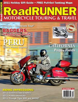 Click article icon to read RoadRUNNER Magazine's Peru Tour Article