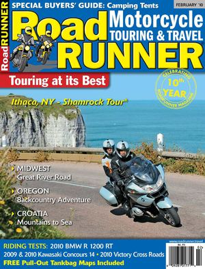Click article icon to read RoadRUNNER Magazine's Croatia Tour Article
