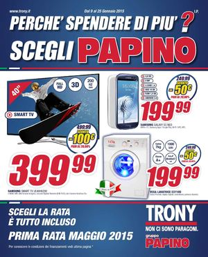 Scaldasonno Da Trony.Calameo Volantino Trony Papino 9 1 Al 25 01 2015