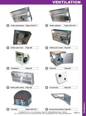 Catalogue Ventilation SOVEMATIC