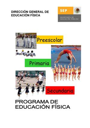 Calameo Programa De Educacion Fisica