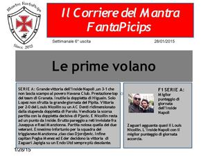 Giornale 28 01 2015
