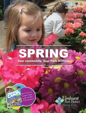 Elmhurst Park District Spring 2015 Program Guide