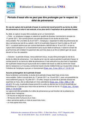 Calameo Bulletin Juridique Periode D Essai Elle Ne Peut Pas Etre