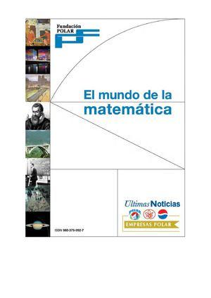 Calaméo - Fundacion Polar El Mundo de las Matemáticas