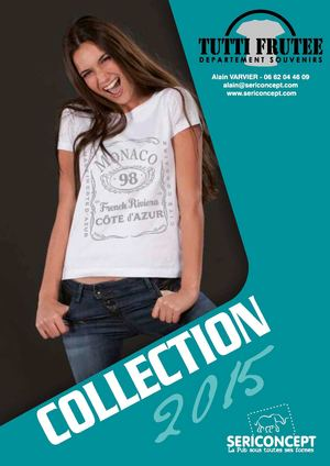 46624 Catalogue Collection TUTTI FRUTEE 2015